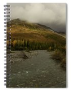 A River Runs Through The Brooks Range Alaska Spiral Notebook
