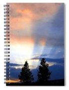 A Riveting Sky Spiral Notebook
