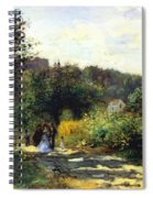 A Road In Louveciennes Spiral Notebook