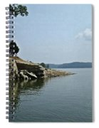A Rocky Point - Monroe Lake Spiral Notebook