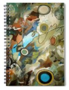 A Rolling Stone Gathers No Moss Spiral Notebook