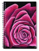 A Rose In Time Spiral Notebook