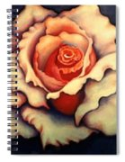 A Rose Spiral Notebook