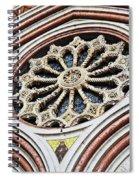 A Rose Window Spiral Notebook