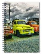 A Row Of Beauties Spiral Notebook