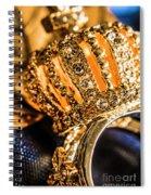 A Royal Engagement Spiral Notebook
