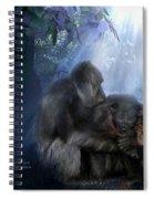 A Sacred Love Spiral Notebook