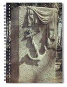 A Sailor's Marker Spiral Notebook