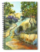 A Sandy Place To Rest Spiral Notebook