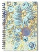 A Seamstress Treasure Spiral Notebook