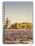 A Seashore Construction Spiral Notebook