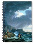 A Seastorm Spiral Notebook