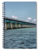 A Section Of The Original Seven Mile Bridge Spiral Notebook