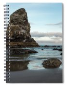 A Serene Morning At Cannon Beach Spiral Notebook