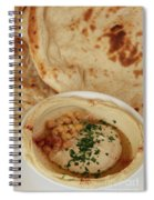 A Serving Of Humus Spiral Notebook
