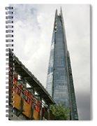 A Shard Day's Night Spiral Notebook