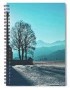 A Shining Light Spiral Notebook