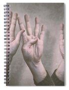 A Show Of Hands Day 197 Spiral Notebook