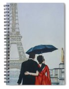 A Shower At The Trocadero Spiral Notebook