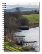 A Shropshire Mere Spiral Notebook