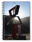 A Sign Spiral Notebook