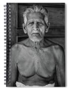 A Silent Conversation Bw Spiral Notebook