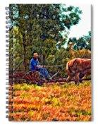 A Simpler Time Sketch Spiral Notebook