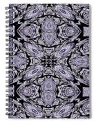 A Sliver Of Silver Abstract Spiral Notebook