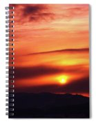 A Slow Sunset      Spiral Notebook