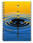 A Small Drop Of Hope Spiral Notebook