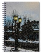 A Snowy Christmas At Big Bear Spiral Notebook