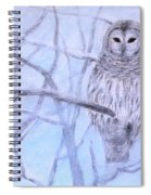 A Barred Owl Spiral Notebook