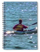 A Solitary Afternoon 2015 Spiral Notebook