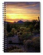 A Southern Arizona Sunset  Spiral Notebook