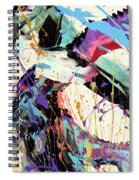 A Space Of Possibles Abstract Spiral Notebook
