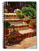 A Spanish Garden Spiral Notebook