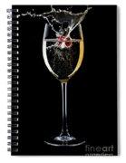A Sparkling Splash Spiral Notebook