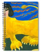 A Sphinx Spiral Notebook