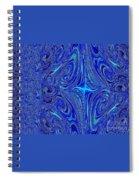 A Spiritual Retereat In Blue Spiral Notebook