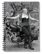 A Splash Of Monochrome Spiral Notebook