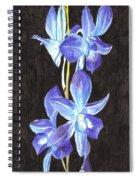 A Spray Of Orchids Spiral Notebook