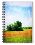 A Spring Day In Texas Spiral Notebook