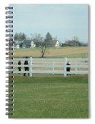 A Spring Recess Day Spiral Notebook