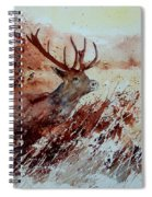 A Stag Spiral Notebook