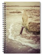 A Stake In The Beach Spiral Notebook