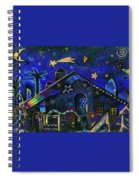 a star in Bethlehem Spiral Notebook