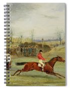 A Steeplechase - Another Hedge Spiral Notebook