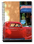 A Step Back In Time Spiral Notebook