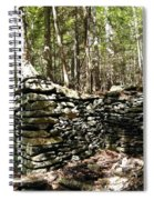 A Stone Structure In The Berkshire Hills Spiral Notebook