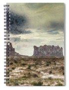 A Storm's Coming Spiral Notebook